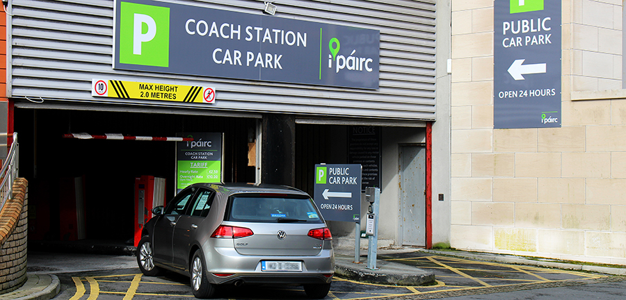 IPairc Coach Station public car park